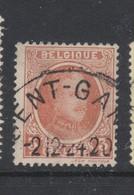 COB 192 Oblitération Centrale GENT - 1922-1927 Houyoux