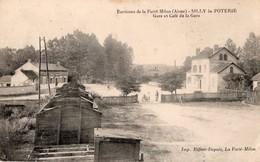 SILLY LA POTERIE - Gare Et Café De La Gare - France