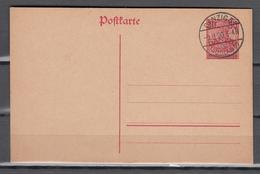 Danzig 1920,ganzsache, Postkarte Mi P7,gestempelt(D2667) - Danzig