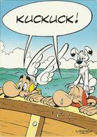 """AK Comic Asterix Obelix Idefix """"Kuckuck"""" Farbfoto #2218 - Comicfiguren"""