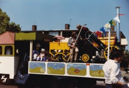 AL51 Railway Photograph - The Rocket (possibly On A Parade Float) - Trains