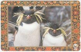 JAPAN D-104 Magnetic NTT [231-181] - Animal, Penguin - Used - Japan