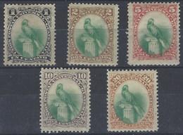 Guatemala 0022/26 * Charnela. 1881 - Guatemala