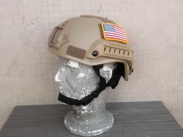 Elmo U.S. Special Forces Desert Con Predisposizione Accessori - Copricapi