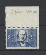 FRANCE. YT  N° 464a  Neuf **  1940 - Nuovi
