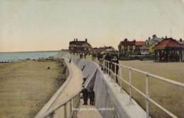 AN06 The Sea Wall, Hornsea - C1908 Postcard, Local Publisher - England