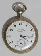 Montre à Gousset Chronomètre Gabriel Gay Grenoble. Diamètre 52 Mm, Petite Usure Générale, Légère Rayure Dans Le Boitier - Montres Gousset