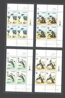 Namibia Namibia Penguins 1998 Quarter Block - Pinguini