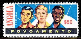 !■■■■■ds■■ Angola Postal Tax 1962 AF#15(*) Races $50 10,5 (x3531) - Angola