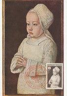 D36294 CARTE MAXIMUM CARD 1951 FRANCE - PORTRAIT SECOND SON OF CHARLES VIII - RED CROSS CP ORIGINAL - Altri