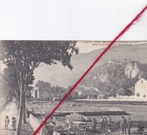 CP 48 -   MEYRUEIS  -   Chantier Lambert  (scierie Et Injection De Poteaux) - Meyrueis