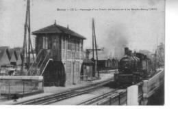 PARIS BERCY  Passage D'un Train De Ceinture à  La Rapée Berey ( 12 ème ) - France