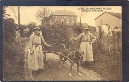 Dans Les Ardennes Belge - Transport Des Fagots - Zonder Classificatie