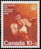 CANADA - Scott # B8 Montréal '76 Olympic Games, Boxing (*) / Mint NH Stamp - Summer 1976: Montreal