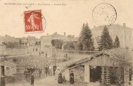 Cpa St Hilaire La Palud Montfaucon Grande Rue - France