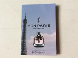 Double Carte Mon Paris YSL - Cartas Perfumadas