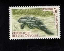 729019070 IVORY COAST POSTFRIS MINT NEVER HINGED POSTFRISCH EINWANDFREI  SCOTT 204 ANIMALS WATER CHEVOTAIN - Côte D'Ivoire (1960-...)