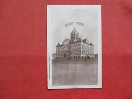 Non Postcard Back-- Court House New York > Buffalo  Ref 3202 - Buffalo