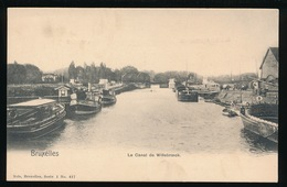 BRUXELLES  LE CANAL DE WILLEBROECK - Maritiem