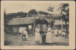 Ansichtskarte Paraguay Pisadoras De Maiz Ungelaufen Postcard  - Cartes Postales