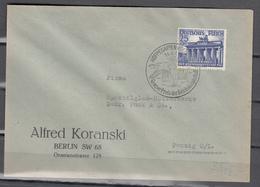DR 1941,Mi  803 Auf Brief Mit Sp,stempel Hoppegarten-Berlin,Grosser Preis Der Reichshauptstadt,gelaufen(D2676) - Lettres & Documents