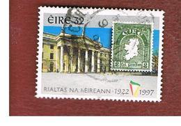 IRLANDA (IRELAND) - SG 1111  - 1997  75^ ANNIVERSARY OF IRIST FREE STATE: G.P.O.  DUBLIN  - USED - 1949-... Repubblica D'Irlanda