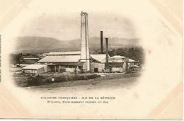 LA REUNION   St Louis Etablissement Sucrier Du Gol - La Réunion