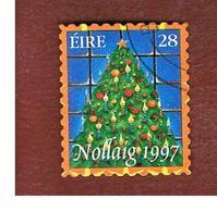 IRLANDA (IRELAND) - SG 1149  - 1997  CHRISTMAS TREE    - USED - 1949-... Repubblica D'Irlanda