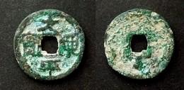 ANNAM  - THAI BINH HUNG BAO   Rev : DINH Below - First Annam Coin- Dinh Dynasty (970-979) VIETNAM  - - Viêt-Nam
