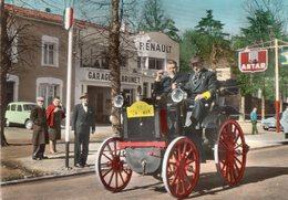 < Automobile Auto Voiture Car >> Rallye Tacot, Garage Renault 4, Antar, Carte Publicité Ascorbine - Voitures De Tourisme
