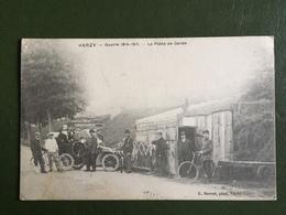 VARZY-Guerre 1914-1918-Le Poste De Garde - Autres Communes