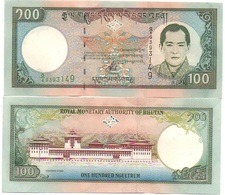Bhutan - 100 Ngultrum 2000 UNC P. 25 Lemberg-Zp - Bhutan