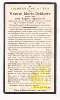 DP Maria DeBlaere ° Aartrijke Zedelgem 1862 † 1933 X Aug. Inghelbrecht - Imágenes Religiosas