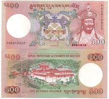 Bhutan - 500 Ngultrum 2011 UNC Lemberg-Zp - Bhutan