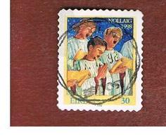 IRLANDA (IRELAND) - SG 1209  - 1998  CHRISTMAS     - USED - 1949-... Repubblica D'Irlanda