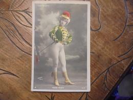 """Folies Bergère  """" Mado Mlnty """" équyére Colorisée - Cabarets"""