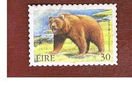 IRLANDA (IRELAND) - SG 1275  - 1999  EXTINT IRISH ANIMALS: BRWN BEAR   - USED - 1949-... Repubblica D'Irlanda