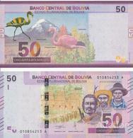 Bolivia - 50 Bolivianos 2018 UNC Lemberg-Zp - Bolivia