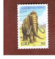 IRLANDA (IRELAND) - SG 1276  - 1999  EXTINT IRISH ANIMALS: MAMMOTH   - USED - 1949-... Repubblica D'Irlanda
