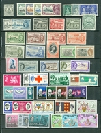 Turks & Caicos LOT Of 72 Incl. 13 SETS Royals Views Churchill War Tax Red Cross More  MNH/MH  Cat $65 WYSIWYG A04s - Turks And Caicos
