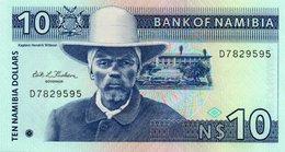NAMIBIA=N/D   10  DOLLARS   P-1        UNC - Namibia