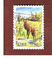 IRLANDA (IRELAND) - SG 1278  - 1999  EXTINT IRISH ANIMALS: GIANT DEER   - USED - 1949-... Repubblica D'Irlanda