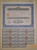 ACTION - BANQUE H.L. De LESTAPIS - Banca & Assicurazione