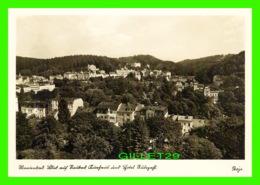 MARIENBAD, TCHEQUIE - VUE DE NEUBAD ÉTABLISSEMENT THERMAL & HOTEL RUBEZAHL  - JANKE & Dr. MAIWALD - - Tchéquie