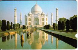 INDIA(GPT) - Tajmahal, Plessey Test Card, CN : 2EXHC, Tirage %1500, Used - Indien