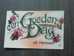 Een Goeden Dag Uit Hemixem Jaar: 1923 - Hemiksem