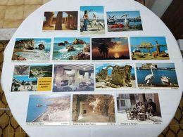 VINTAGE POSTCARD LOT X 18 CYPRUS - PAPHOS VIEWS UNUSED - Chypre