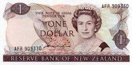 NEW ZEALAND=N/D 1981  1  DOLLAR   P-169          UNC - Nouvelle-Zélande