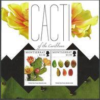 Montserrat 2012 MNH Sheet Cactus - Turks & Caicos