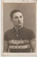 CPA - PHOTO - COUREUR CYCLISTE DE L'EQUIPE HELYETT HUTCHINSON - - Ciclismo